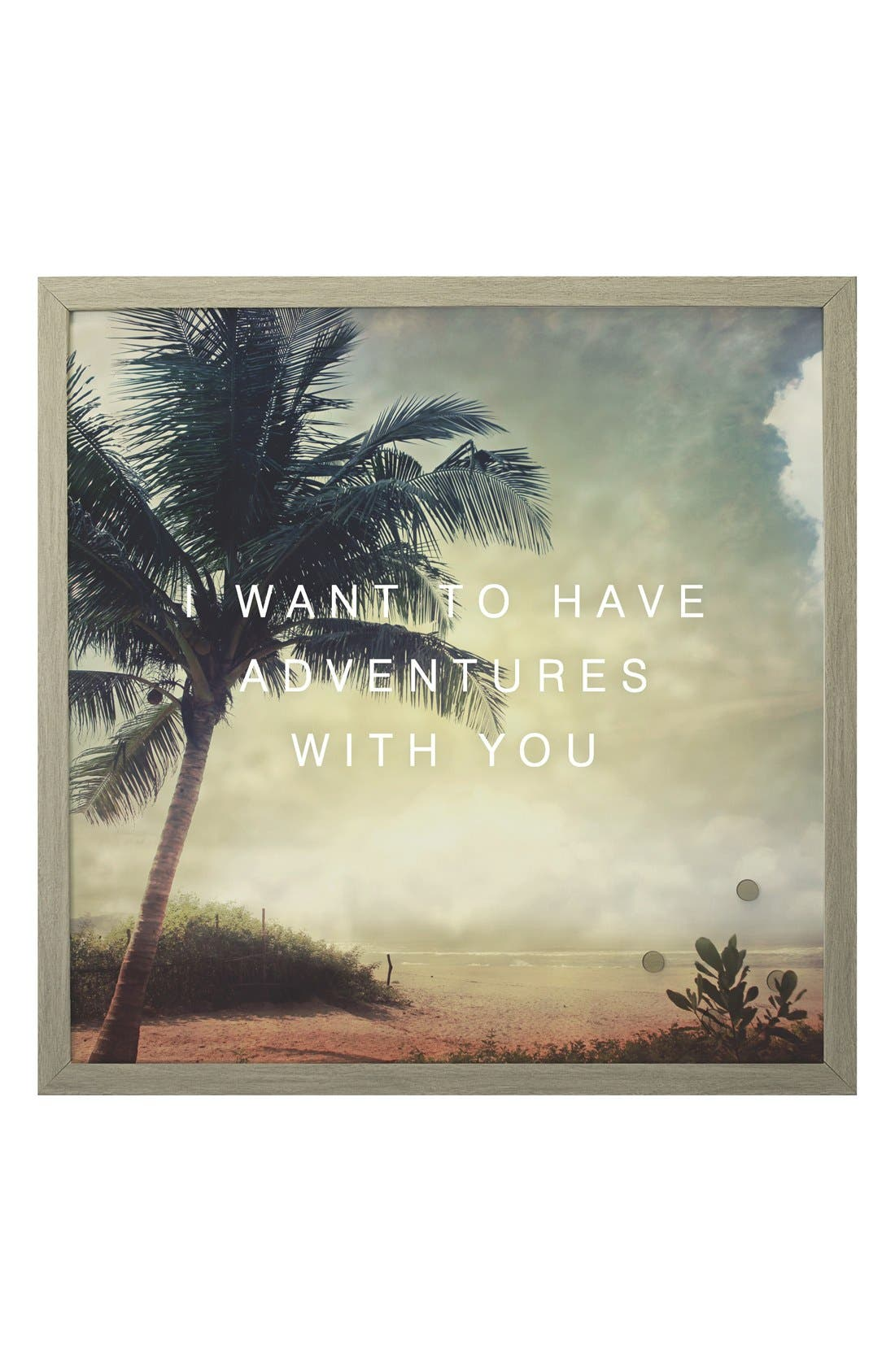 Petal Lane 'Adventures With You' Magnet Board