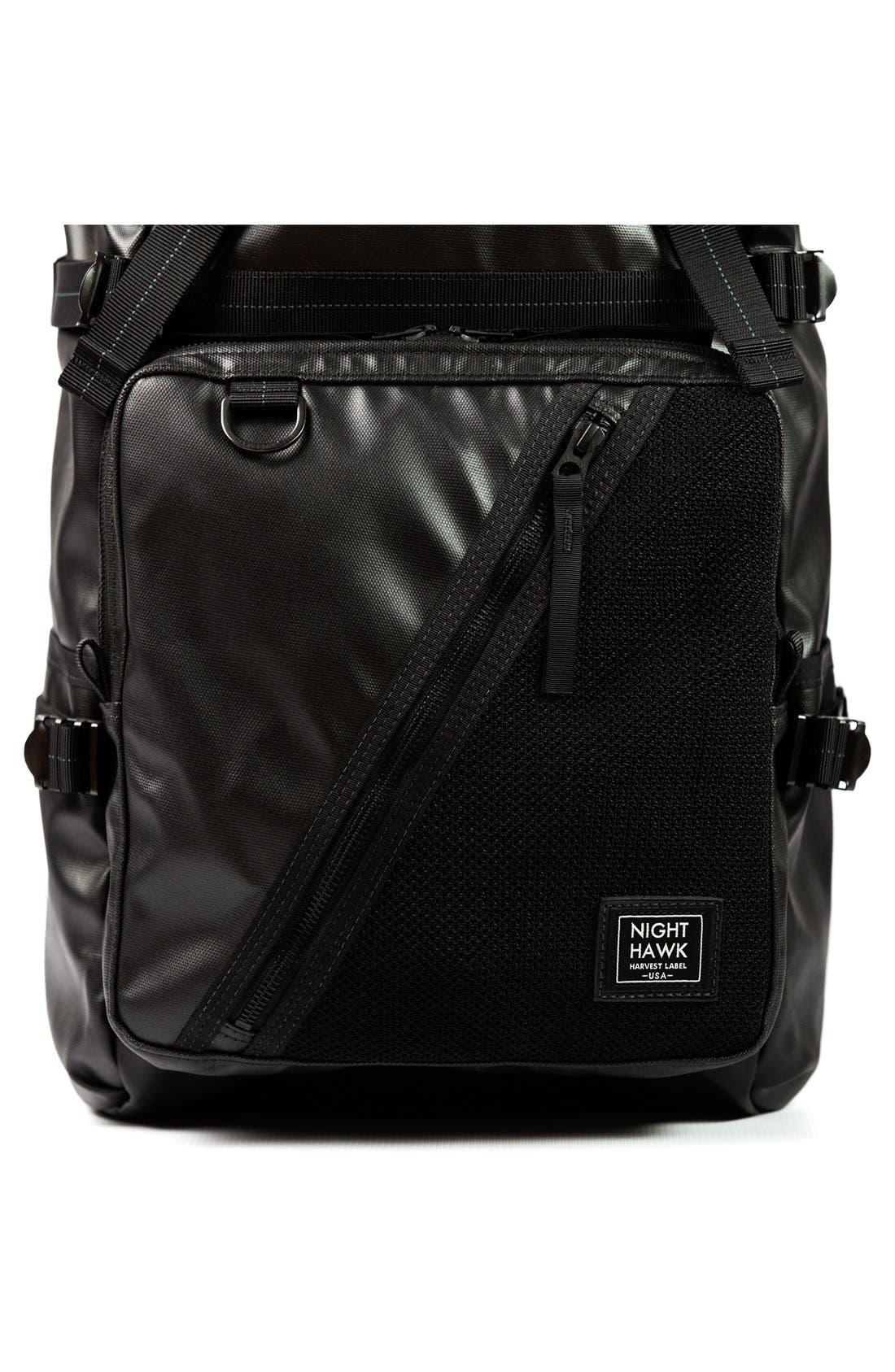 'NightHawk' Backpack,                             Alternate thumbnail 6, color,                             Black