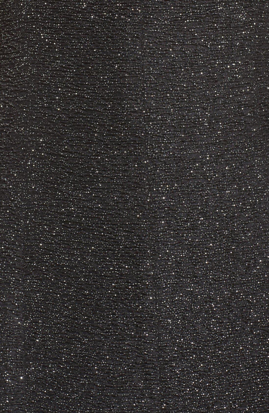 Alternate Image 5  - Eliza J Glitter Knit Gown (Regular & Petite)