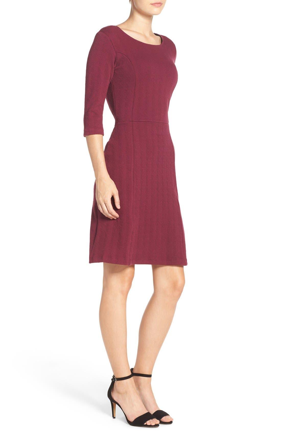 Alternate Image 3  - Leota 'Avery' Jacquard Knit Sheath Dress