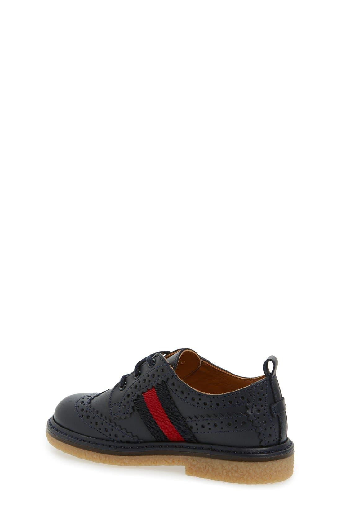 Alternate Image 2  - Gucci 'Darby' Oxford (Baby, Walker, Toddler & Little Kid)
