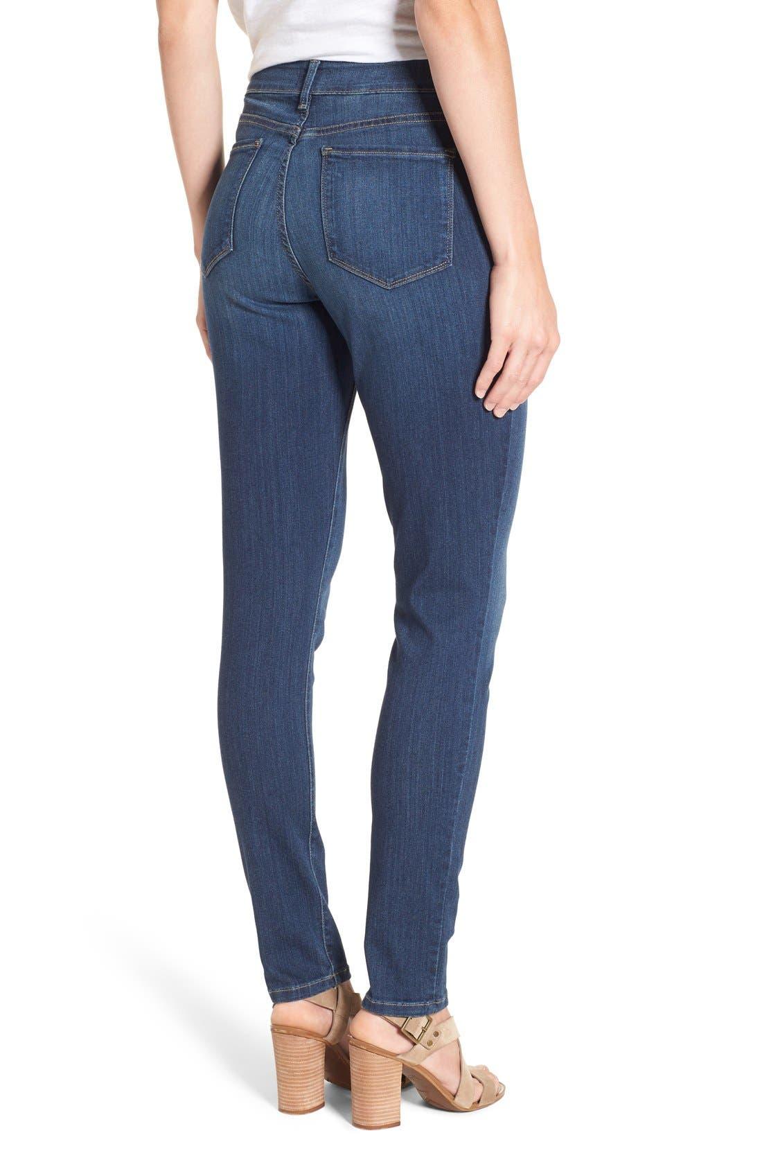 Alternate Image 2  - NYDJ 'Ami' Stretch Skinny Jeans (Regular & Petite)