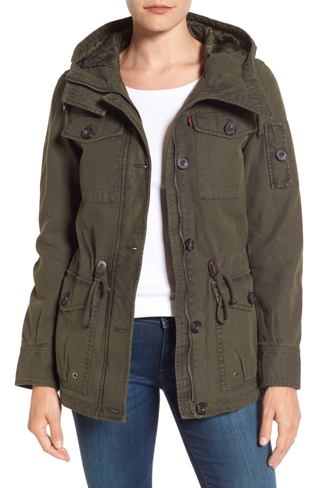 Alternate Image 1 Selected - Levi's® Cotton Twill Utility Jacket