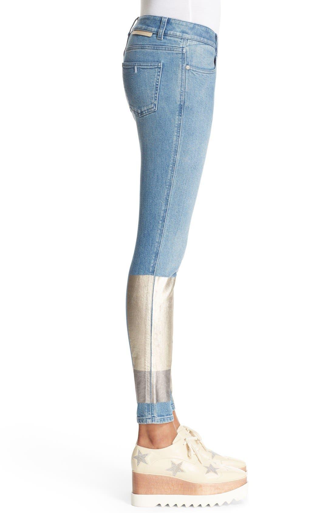 Alternate Image 3  - Stella McCartney Ankle Grazer Skinny Jeans