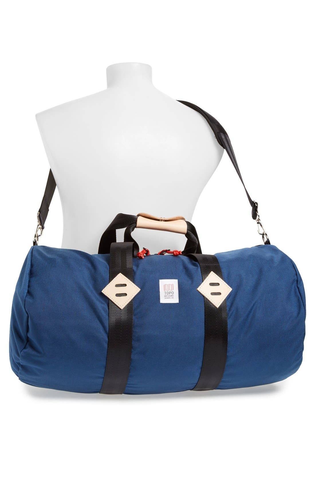 Classic Duffel Bag,                             Alternate thumbnail 2, color,                             Navy