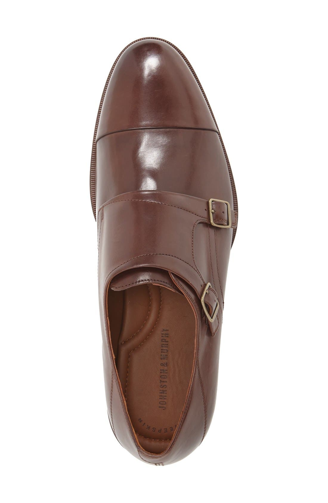 Alternate Image 3  - Johnston & Murphy 'Nolen' Double Monk Strap Shoe (Men)