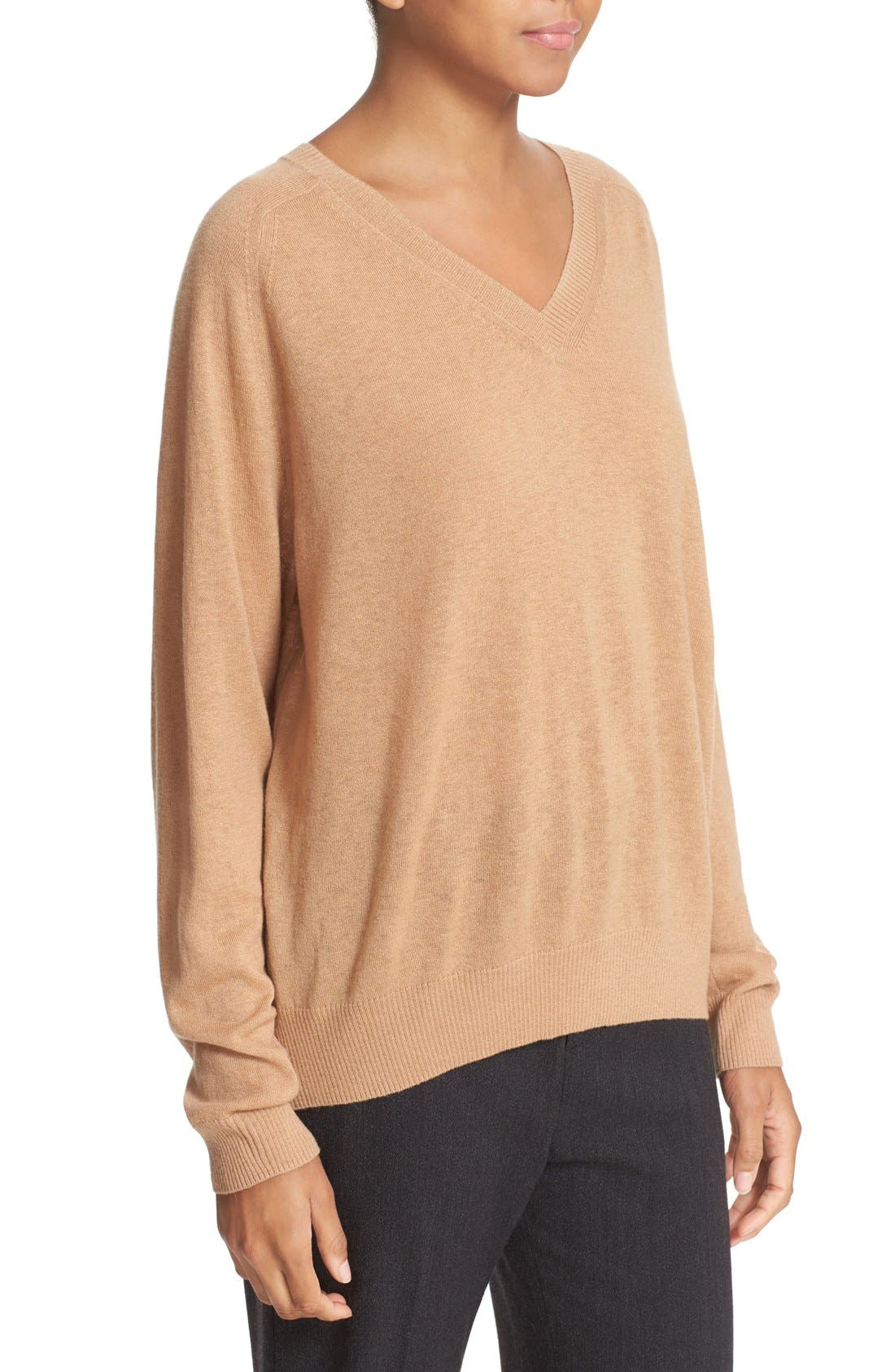 Alternate Image 3  - Vince Relaxed Cashmere V-Neck Sweater