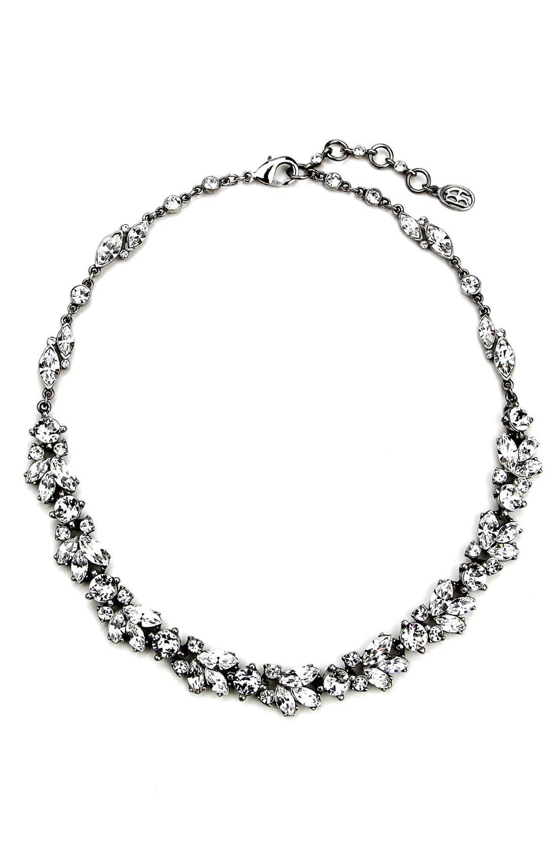 BEN-AMUN Crystal Vine Collar Necklace