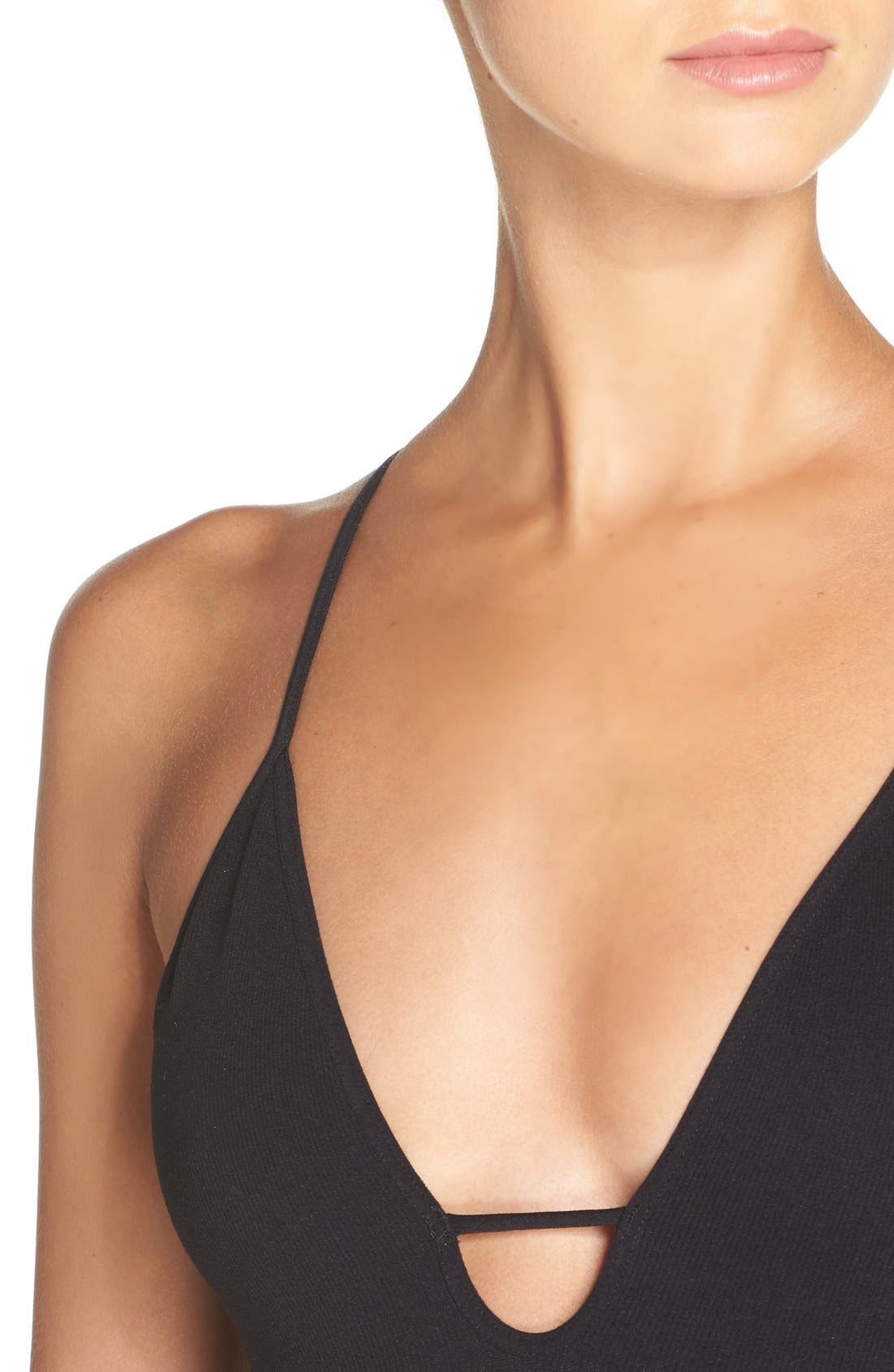 Alternate Image 4  - Free People Intimately FP Move Along Racerback Bodysuit