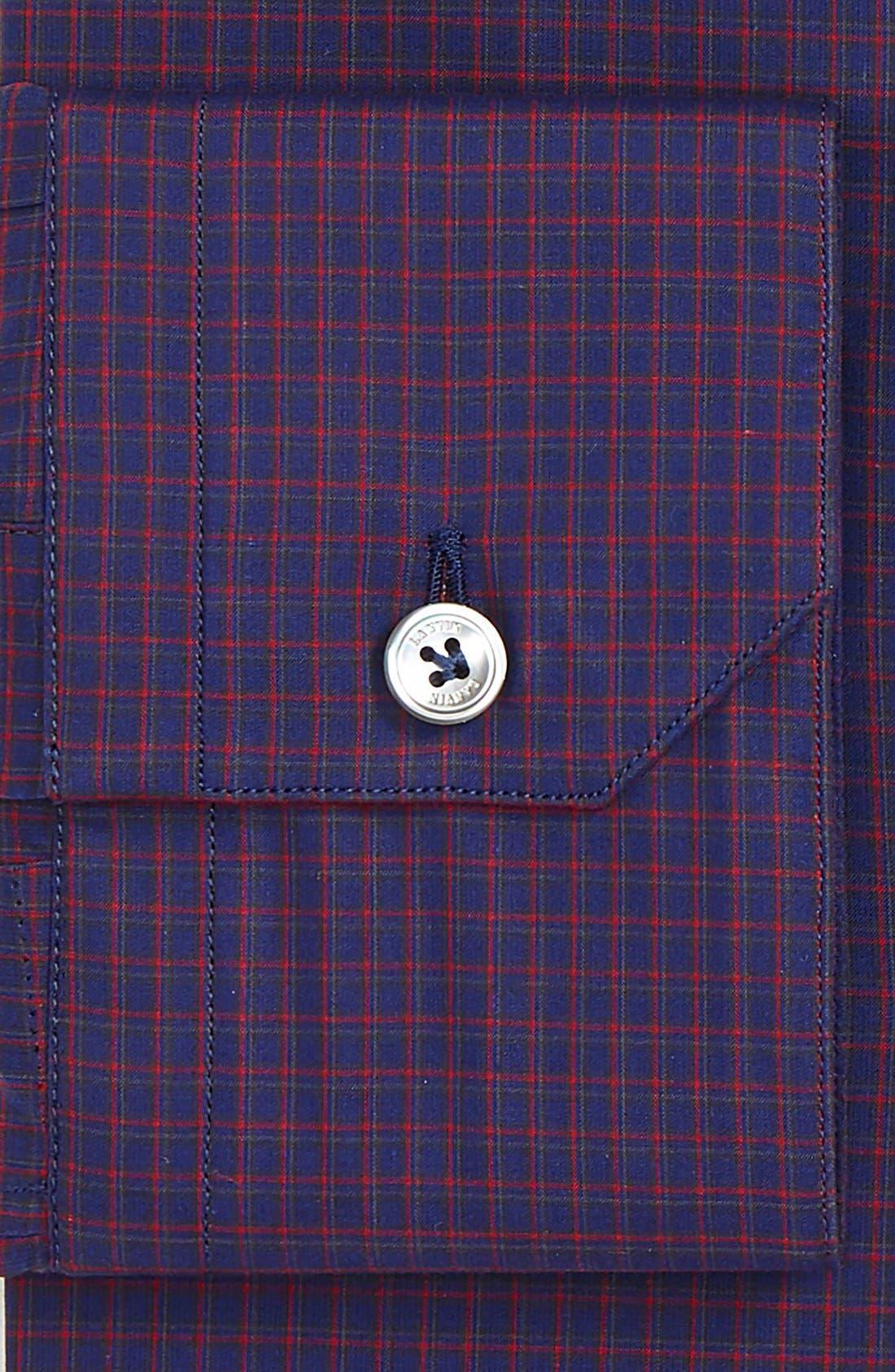 Alternate Image 4  - Lanvin Trim Fit Check Dress Shirt