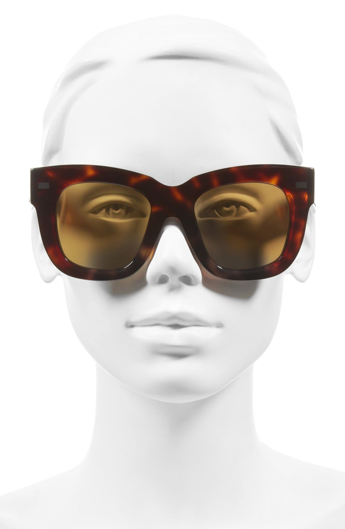 Library 51mm Sunglasses,                             Alternate thumbnail 2, color,                             Turtle