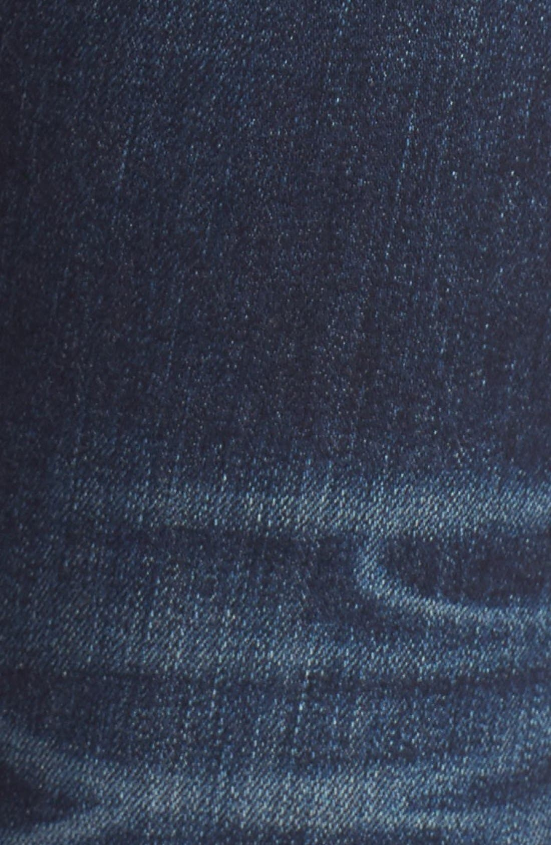 Alternate Image 5  - rag & bone/JEAN Embroidered Skinny Jeans (Baker)
