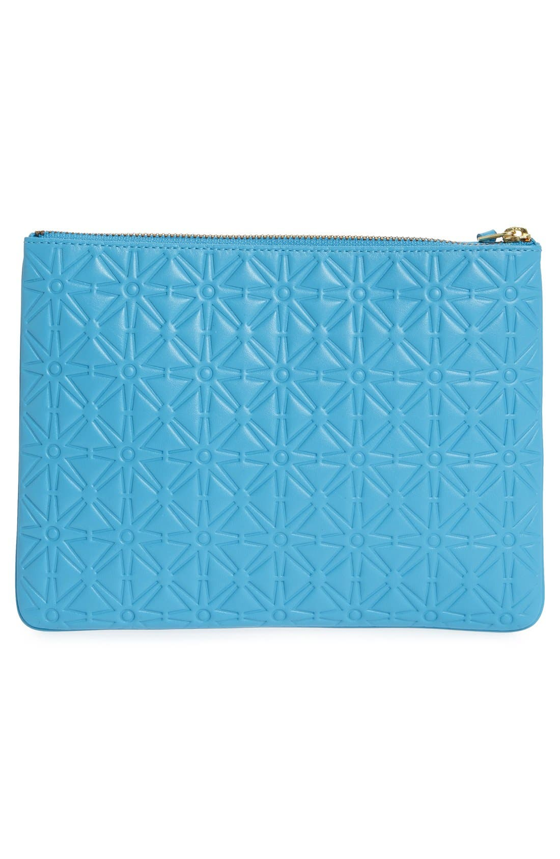 Alternate Image 3  - Comme des Garçons Large Embossed Leather Pouch