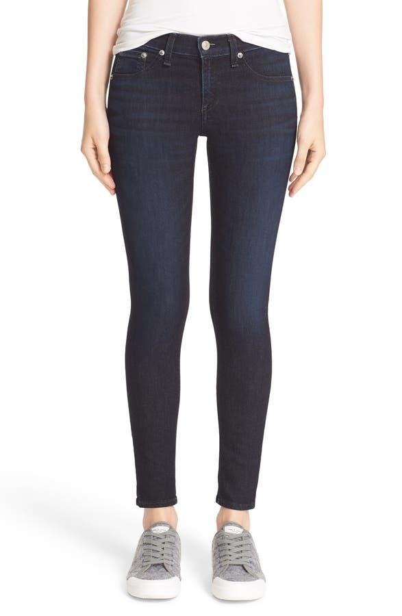 rag & bone/JEAN 'Capri' Crop Skinny Jeans (Lynwood) | Nordstrom