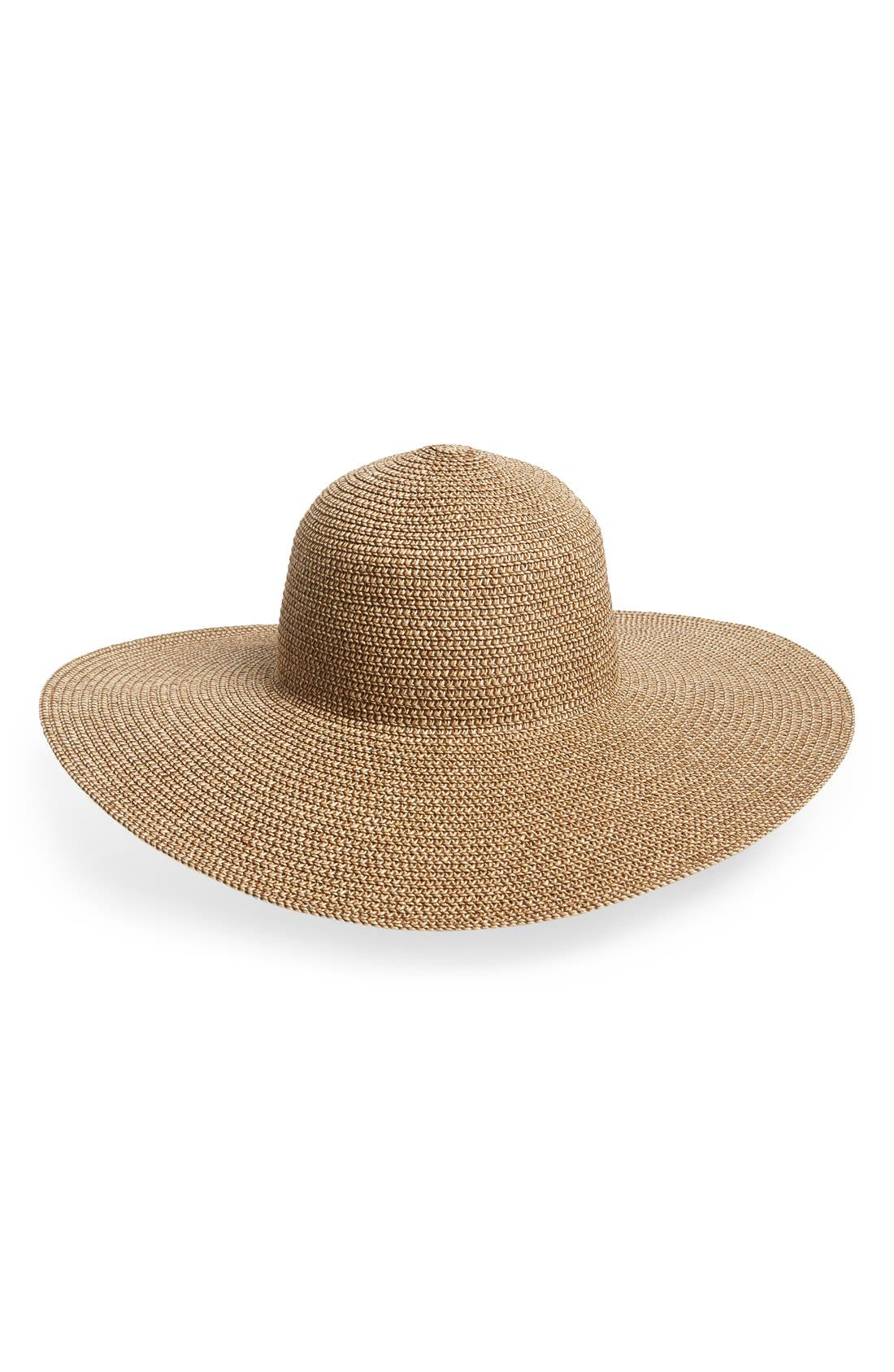 Alternate Image 1 Selected - David & Young Floppy Straw Hat