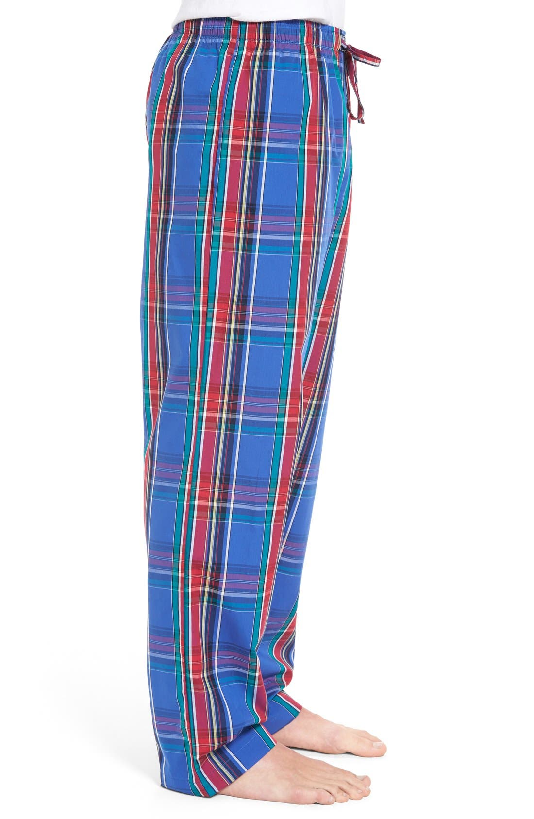Alternate Image 3  - Polo Ralph Lauren Cotton Lounge Pants