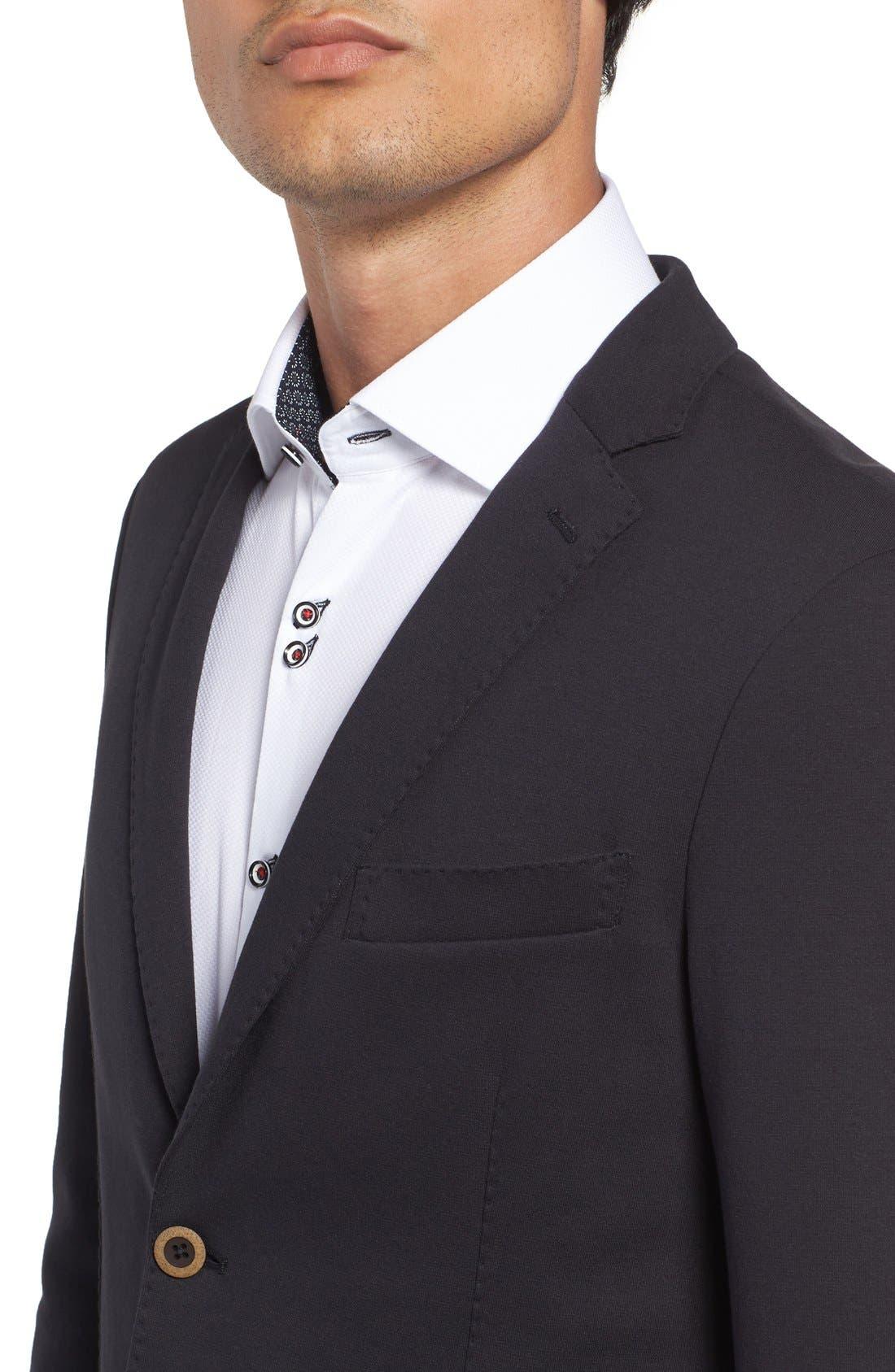 Alternate Image 4  - Stone Rose Knit Blazer