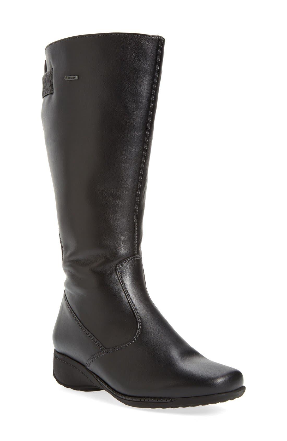 ara 'Leslie' Waterproof Gore-Tex® Boot (Women) (Wide Calf)