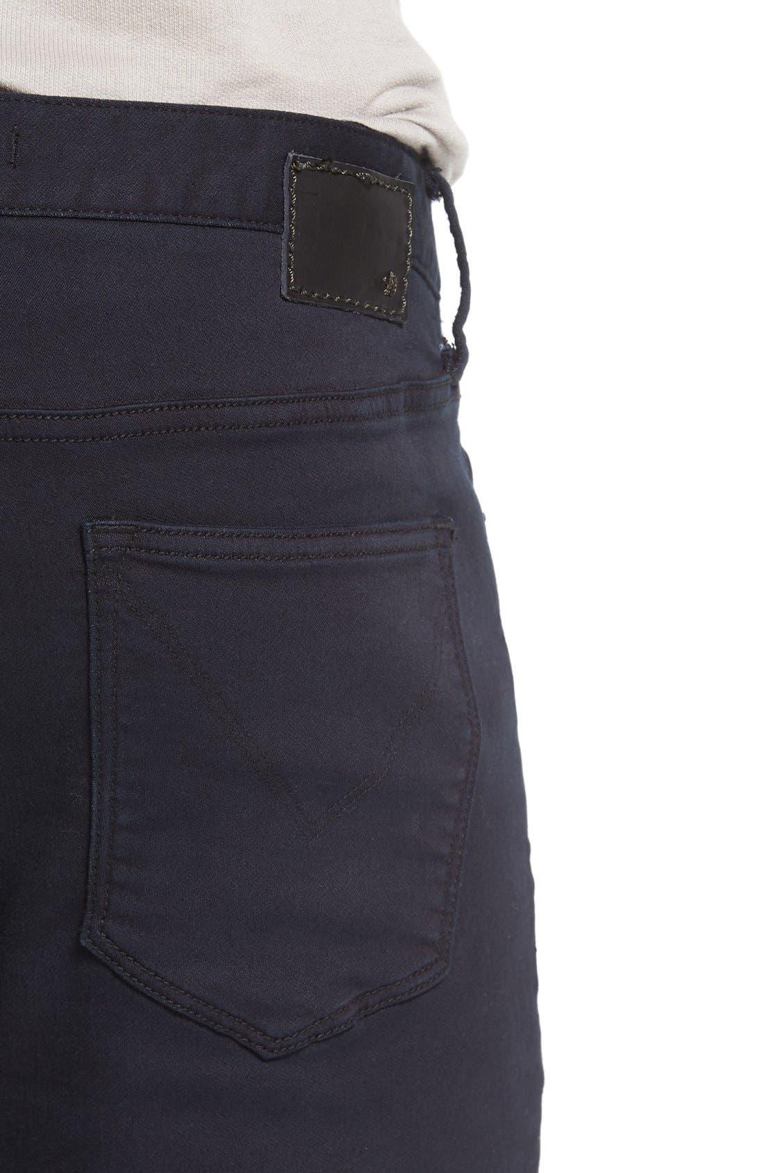 'Bowery' Slim Fit Pants,                             Alternate thumbnail 4, color,                             Eclipse
