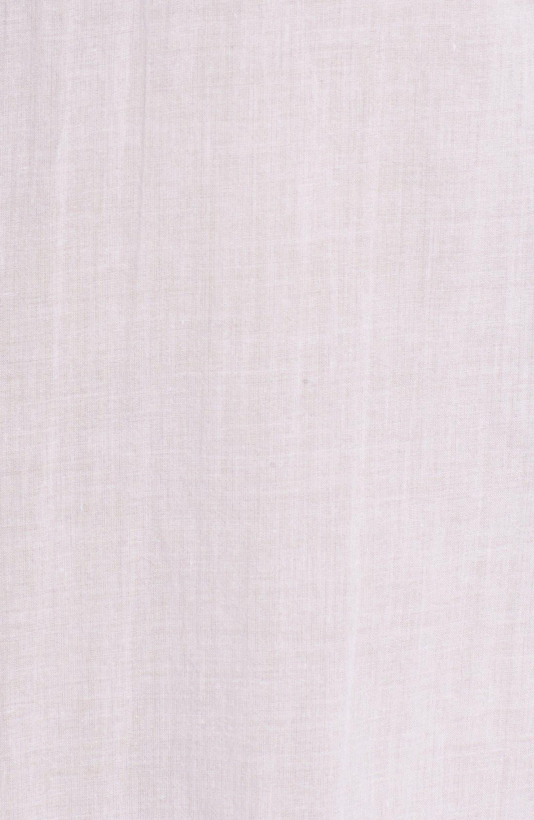 Cotton Voile Sport Shirt,                             Alternate thumbnail 5, color,                             White