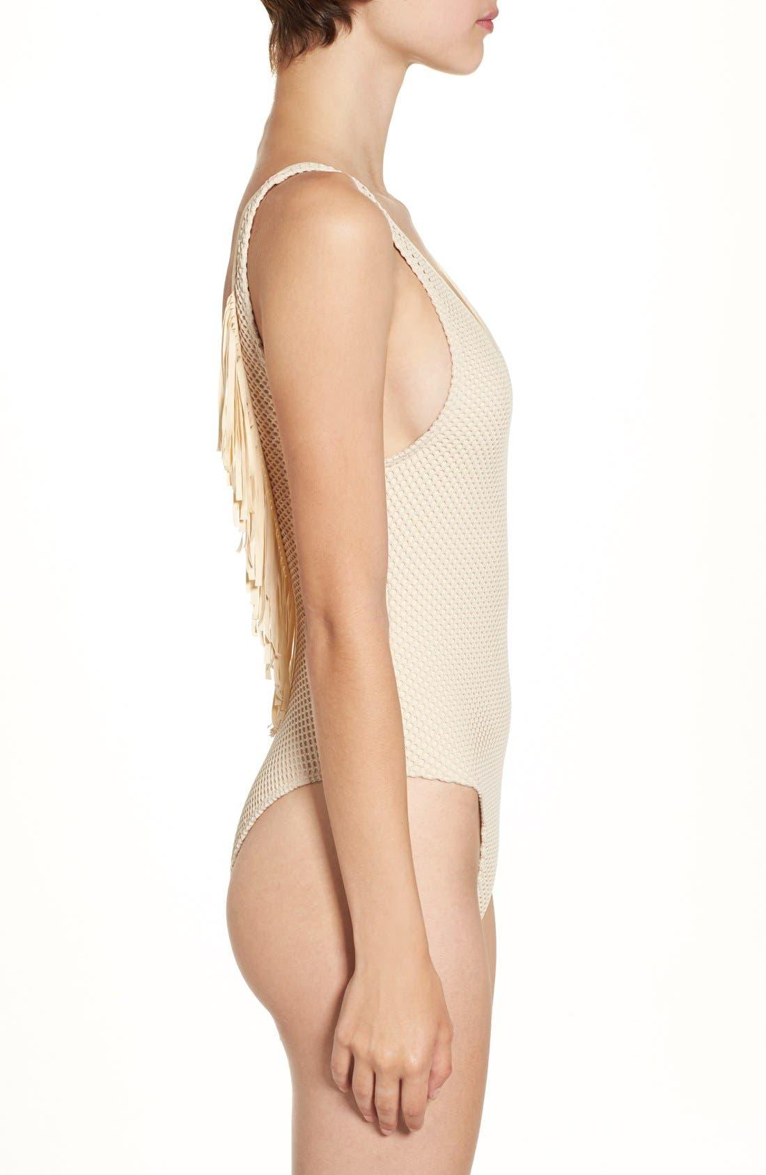 Alternate Image 3  - Rip Curl 'Joyride' Fringe One-Piece Swimsuit