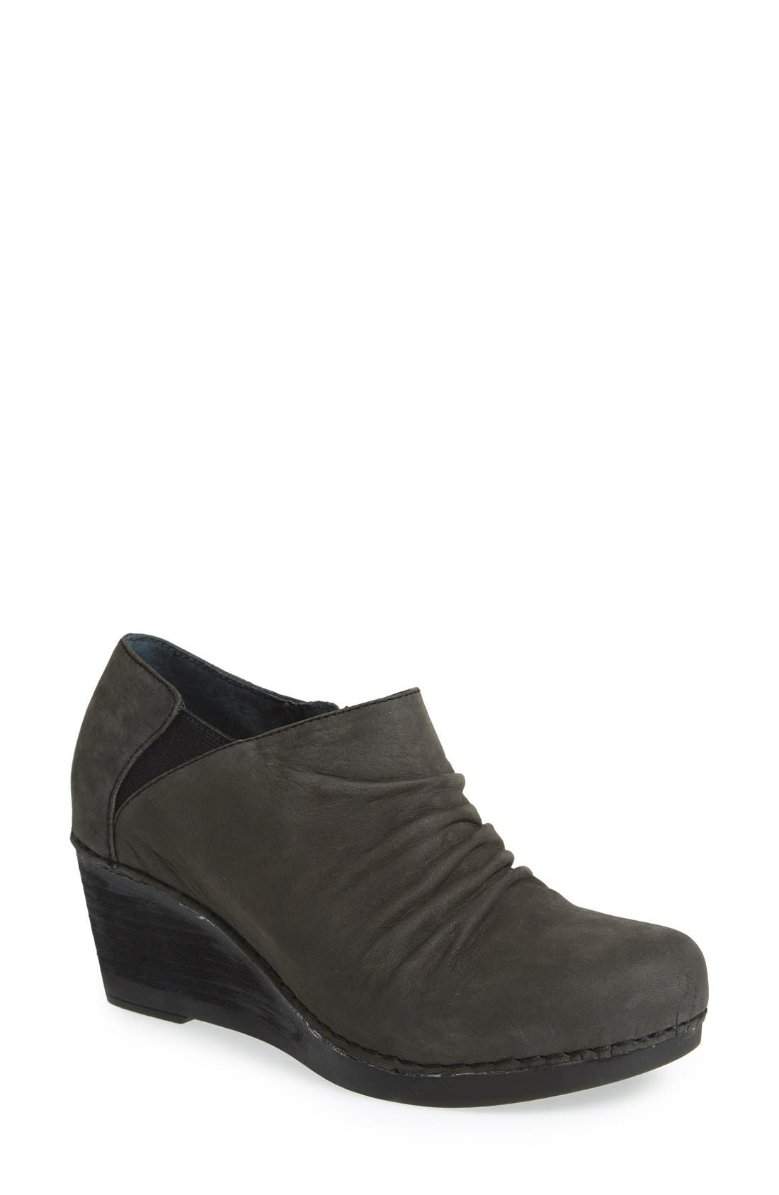 Dansko 'Sheena' Slouchy Wedge Bootie (Women)