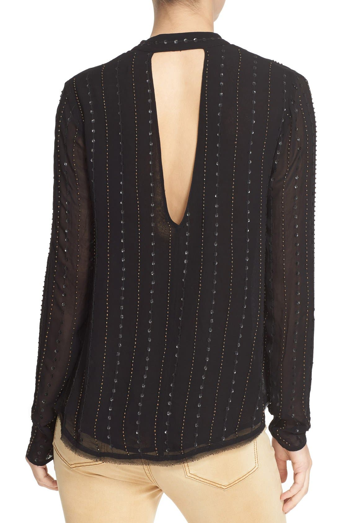 Alternate Image 2  - Free People 'Young Love' Embellished Blouse