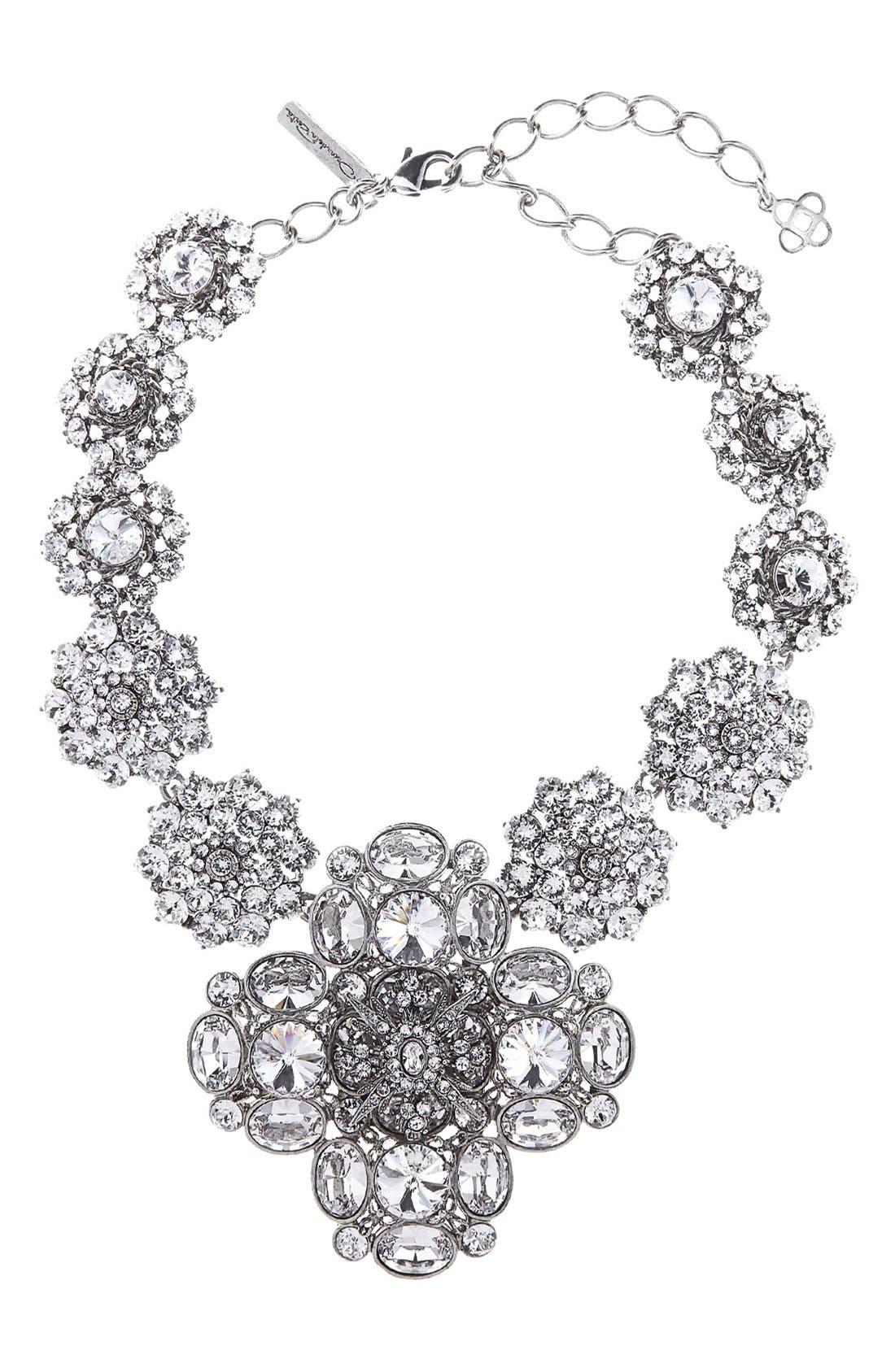 Alternate Image 1 Selected - Oscar de la Renta Jewel Collar Necklace