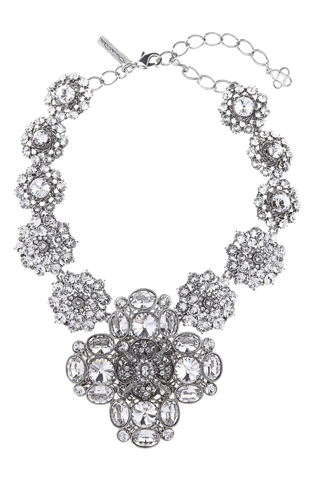 Oscar de la Renta Jewel Collar Necklace