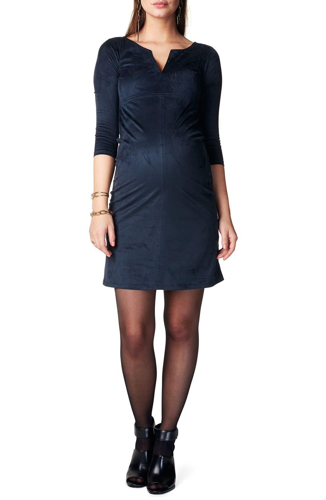 Noppies 'Silje' Sueded Maternity Dress