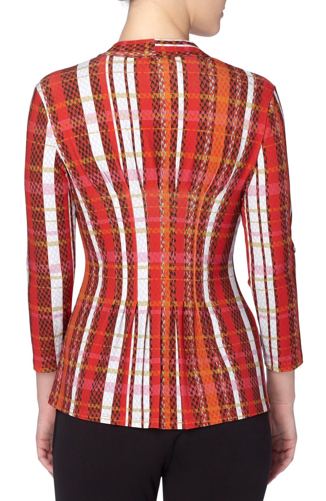 Alternate Image 2  - Catherine Catherine Malandrino 'Rea' V-Neck Print Top