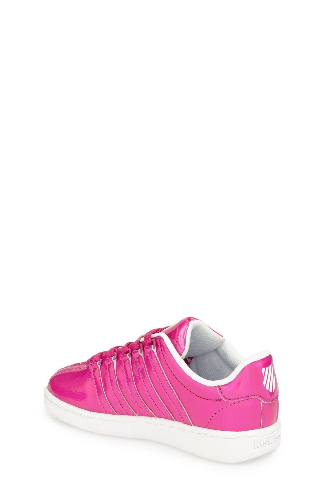 'Classic - Shine On' Sneaker,                             Alternate thumbnail 2, color,                             Pink/ White