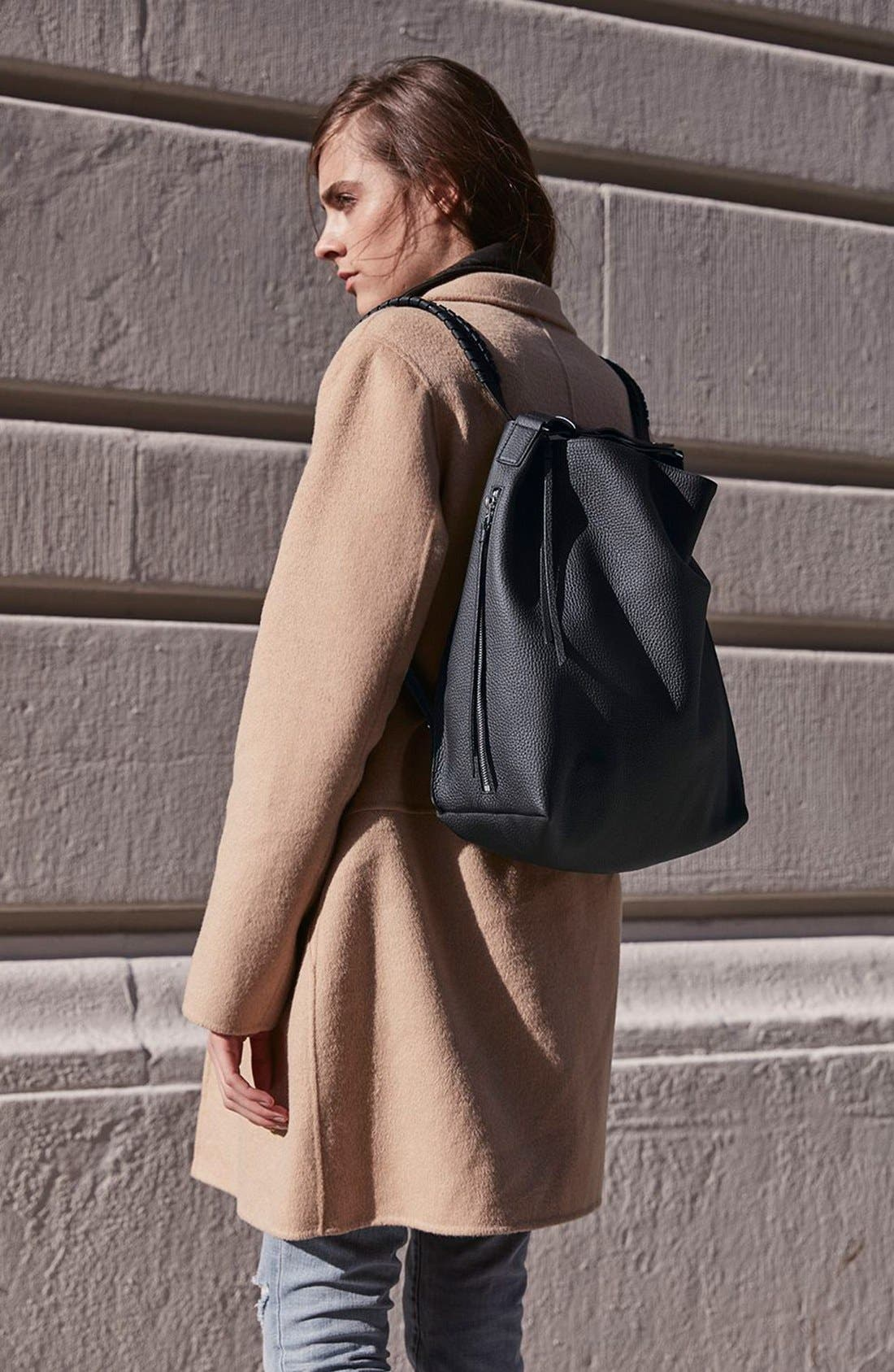 Alternate Image 8  - ALLSAINTS Kita Convertible Leather Backpack