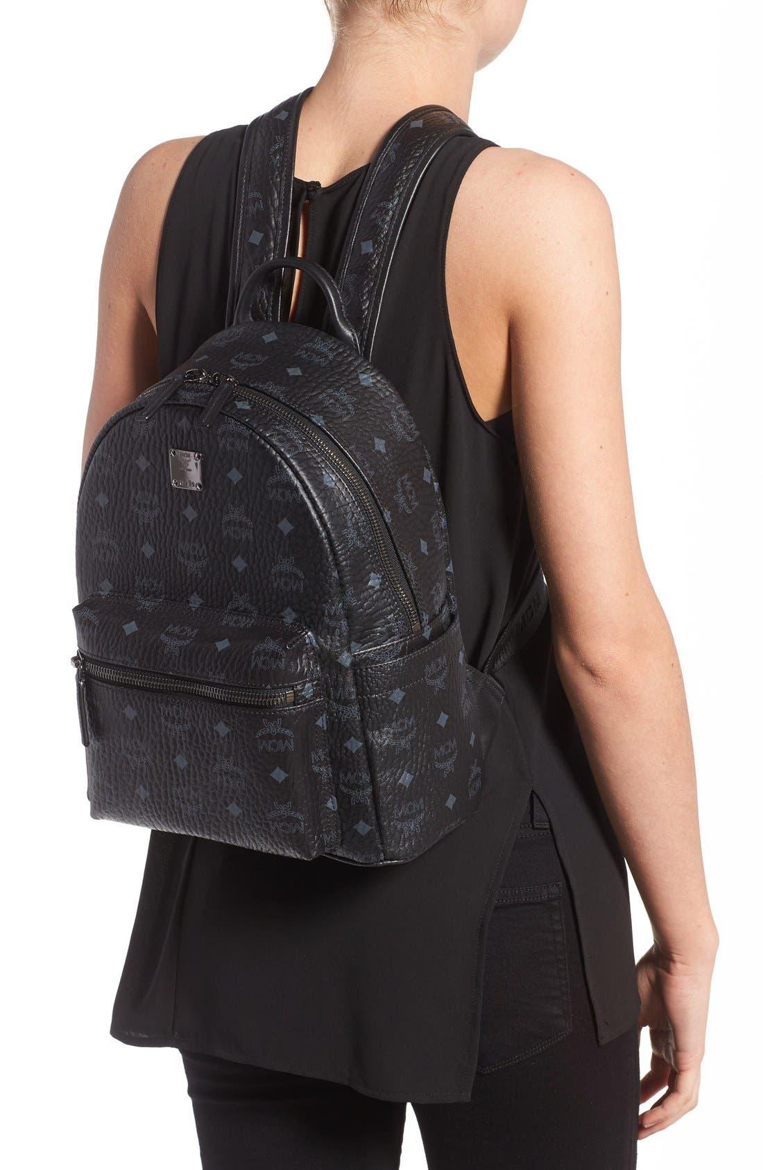 Alternate Image 2  - MCM Small Stark - Visetos Backpack