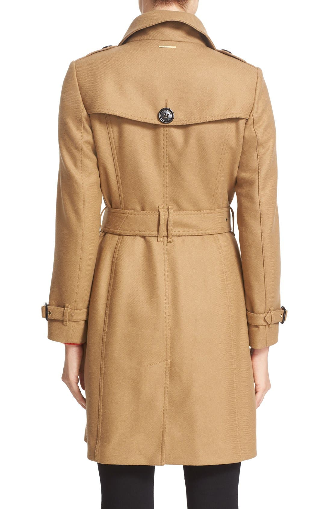 Alternate Image 2  - Burberry Gibbsmoore Funnel Collar Trench Coat (Nordstrom Exclusive)