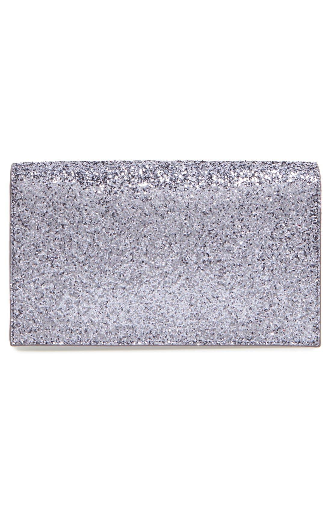 Alternate Image 3  - Saint Laurent 'Monogram Kate' Glitter Clutch
