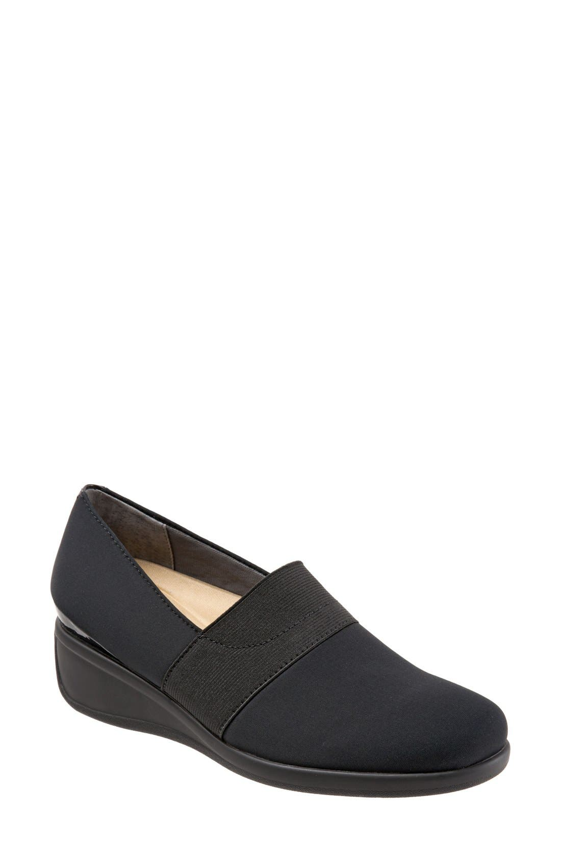 Trotters 'Marley' Slip-On Wedge Pump (Women)