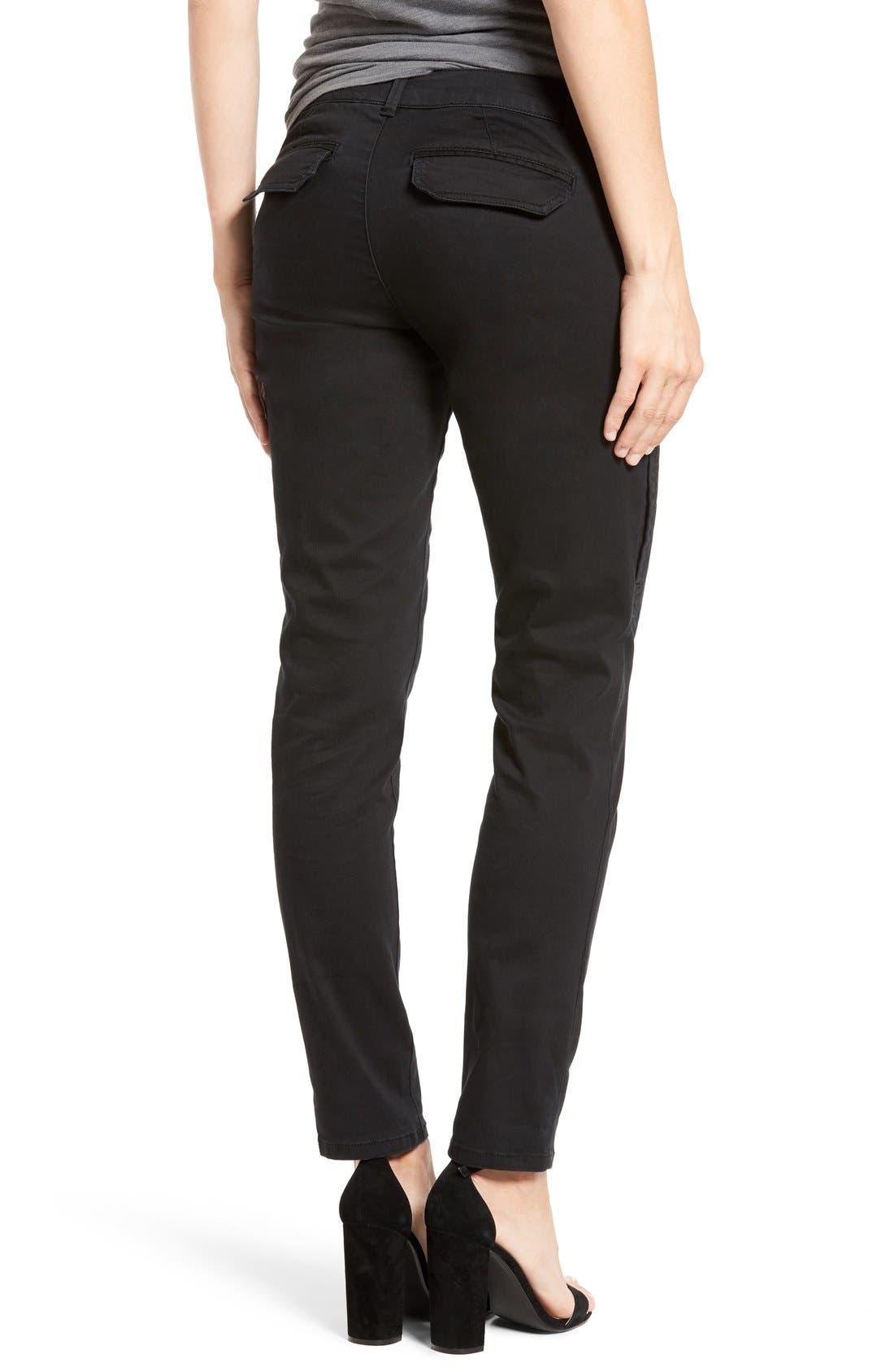 Alternate Image 4  - Wit & Wisdom Skinny Cargo Pants (Regular & Petite) (Nordstrom Exclusive)