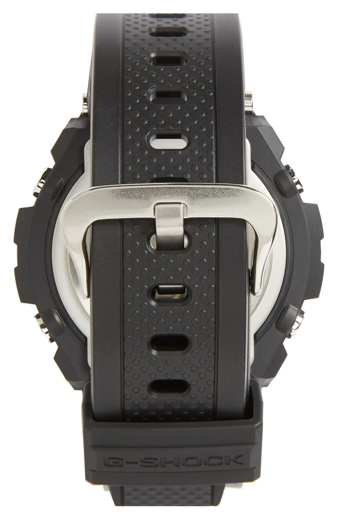 G-Shock Ana-Digi Solar Watch, 46mm,                             Alternate thumbnail 2, color,                             Black