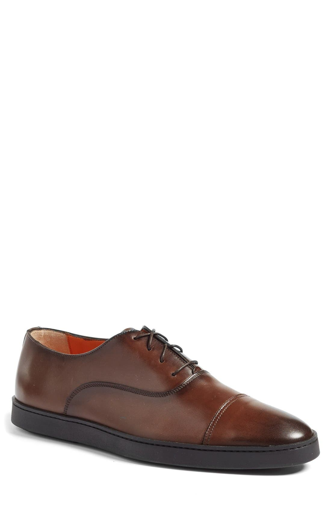 Alternate Image 1 Selected - Santoni 'Durbin' Oxford Sneaker (Men)