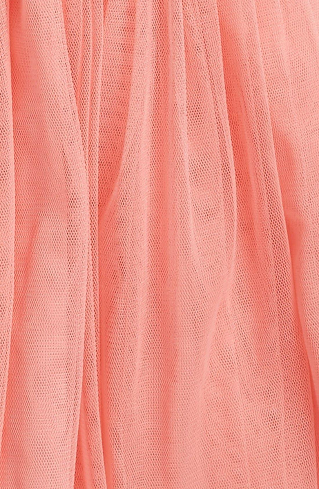 Alternate Image 2  - Popatu Sequin Bodice Tulle Dress (Baby Girls)
