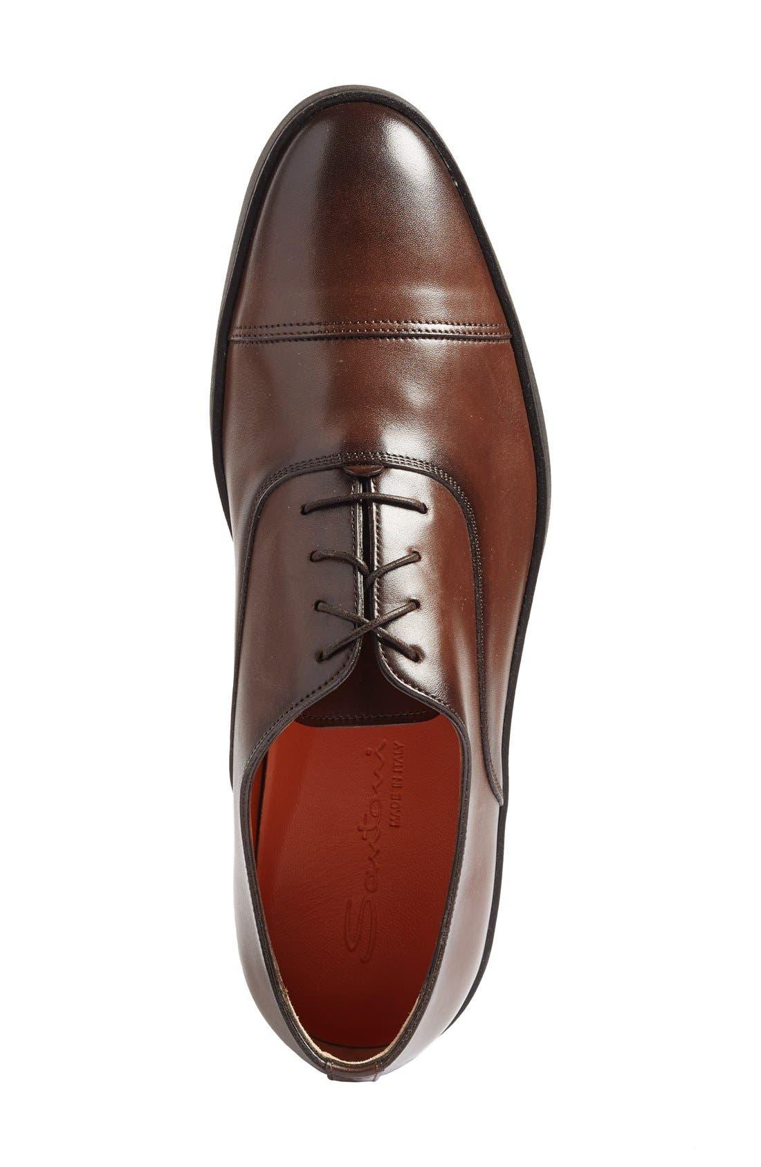 Alternate Image 3  - Santoni 'Durbin' Oxford Sneaker (Men)