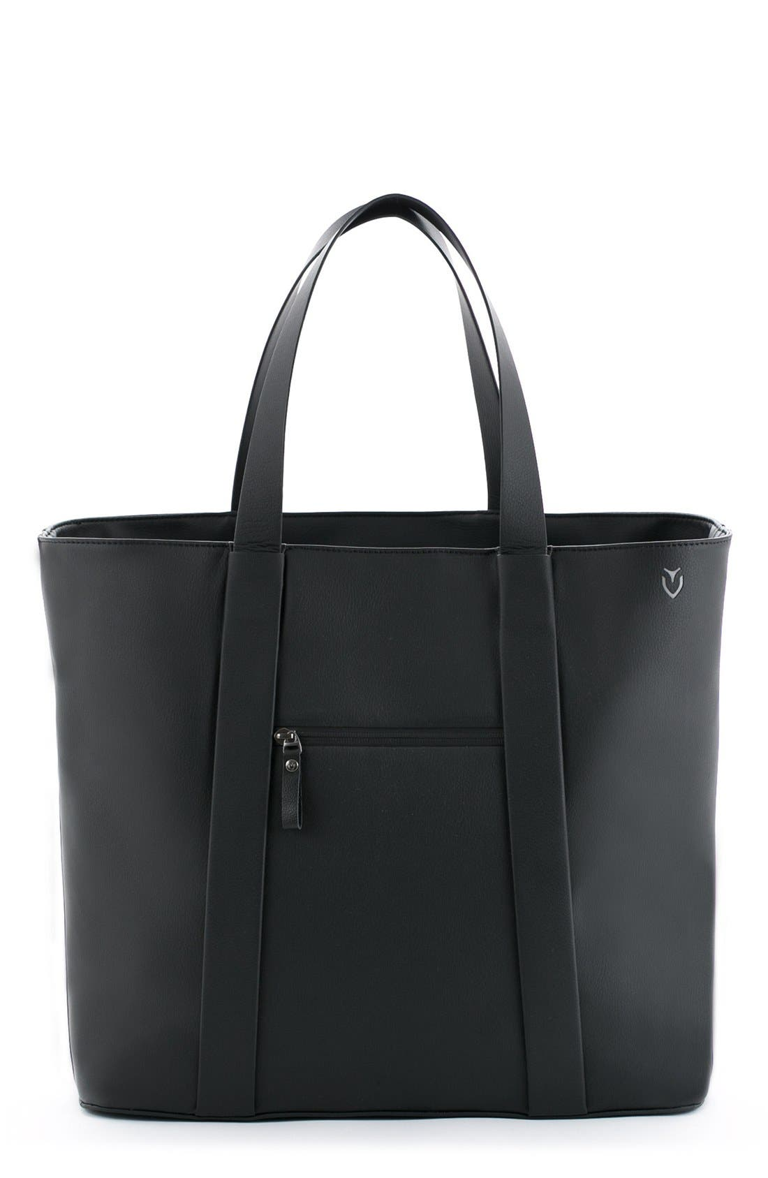 VESSEL Signature Leather Tote Bag