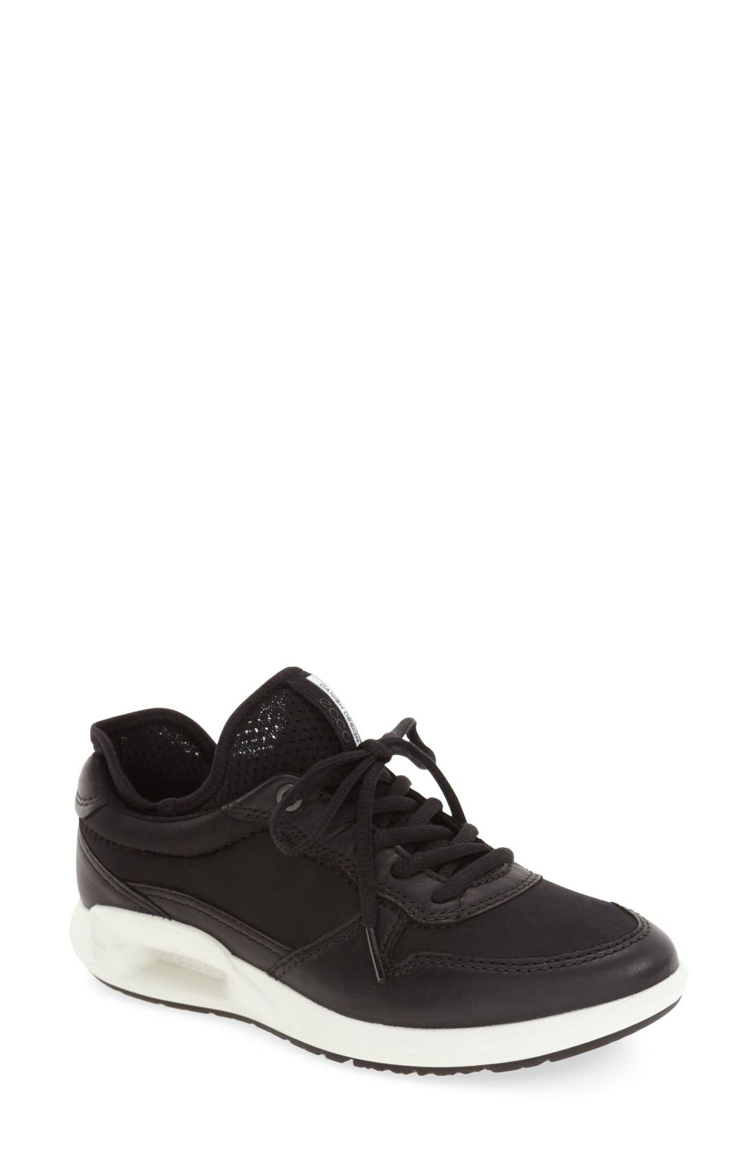 'CS16' Sneaker,                         Main,                         color, Black Leather