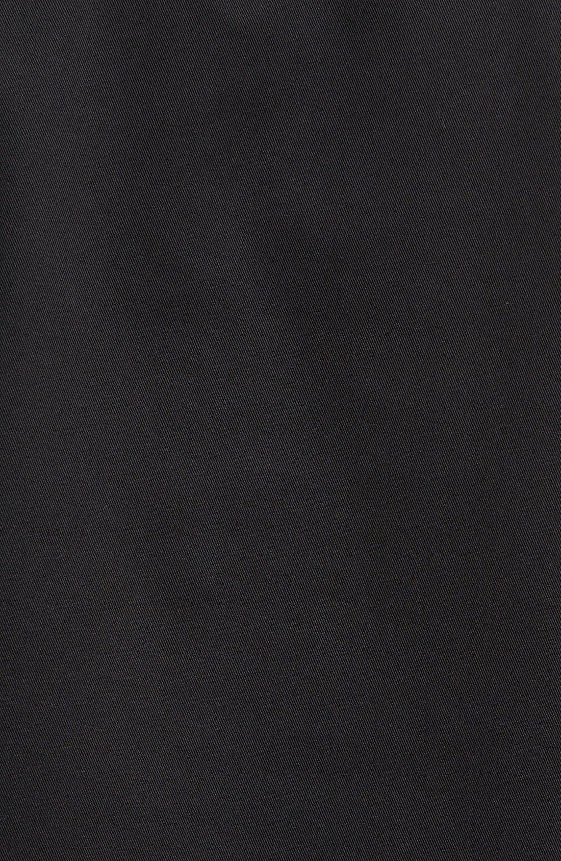 'Clinton' Hooded Anorak,                             Alternate thumbnail 5, color,                             Black
