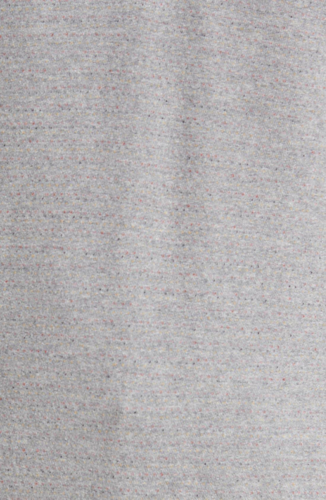 'Gleann' Quarter Zip Pullover,                             Alternate thumbnail 5, color,                             Alchemy Heather