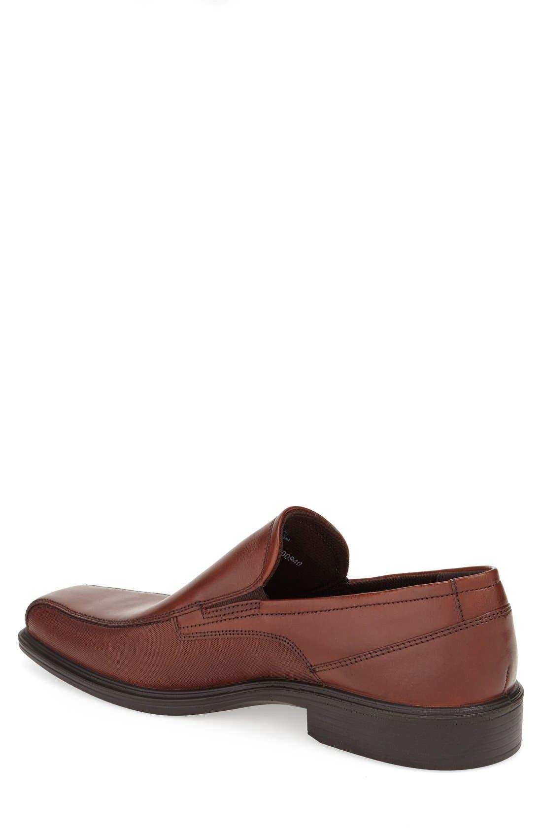 'Johannesburg' Venetian Loafer,                             Alternate thumbnail 2, color,                             Cognac Leather