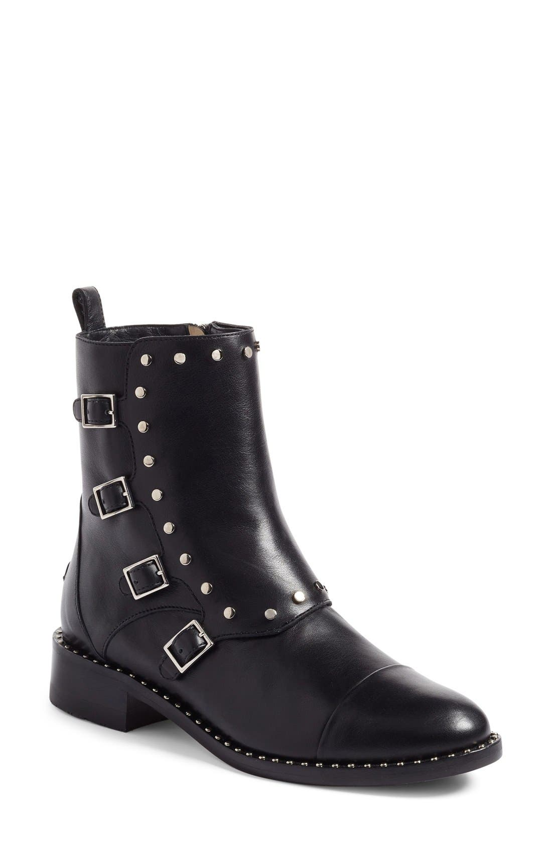 Alternate Image 1 Selected - Jimmy Choo Baxter Combat Boot (Women)