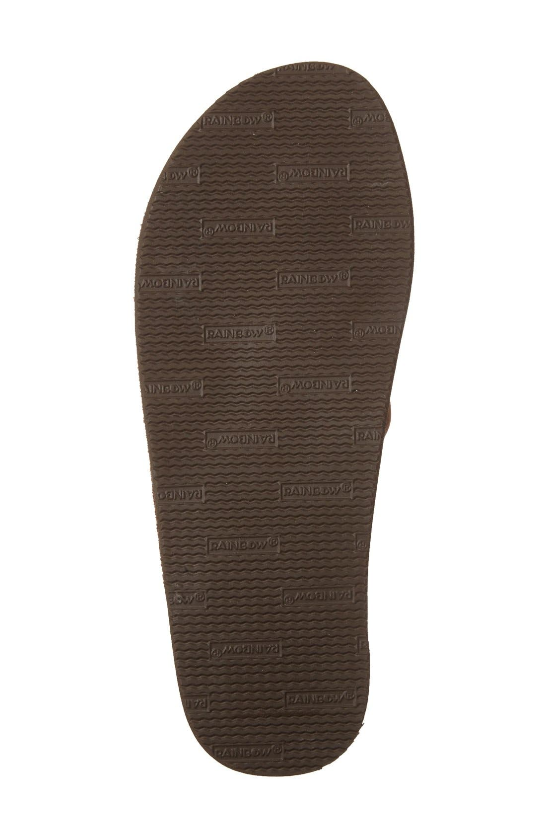 '301Alts' Sandal,                             Alternate thumbnail 4, color,                             Dark Brown