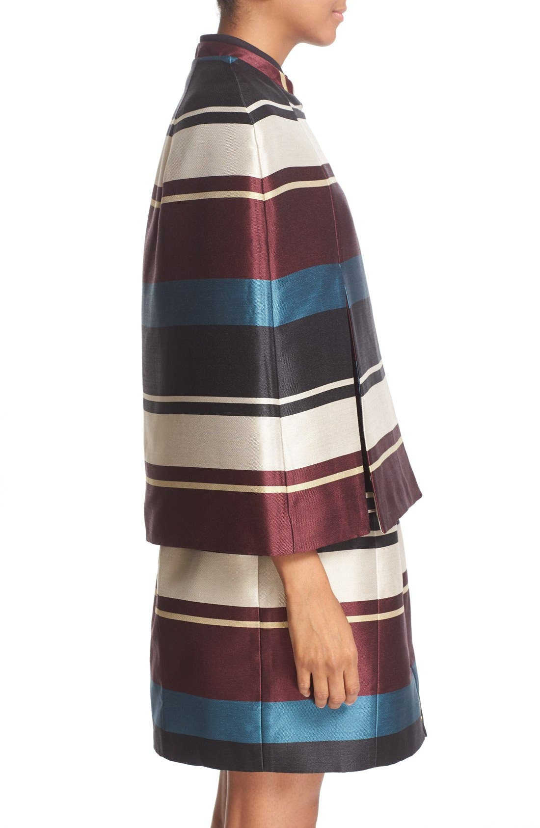 Alternate Image 4  - Ted Baker London 'Zuavi' Stripe Jacquard Cape